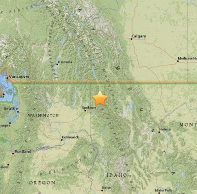 4.1 Sarthquake Idaho