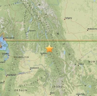 4.1 Sarthquake Idaho