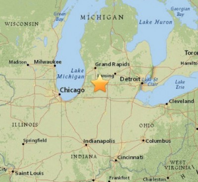 4.2 Magnitude Earthquake ROCKS Michigan