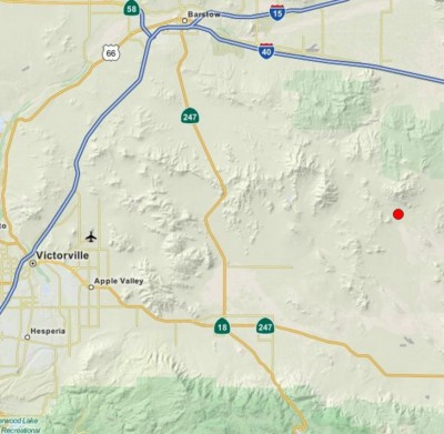4.3 Earthquake Rocks Lucerne Valley CA