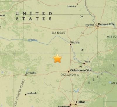5.1 earthquake Fairview Oklahoma 400x364 5.1 Earthquake ROCKS Oklahoma!