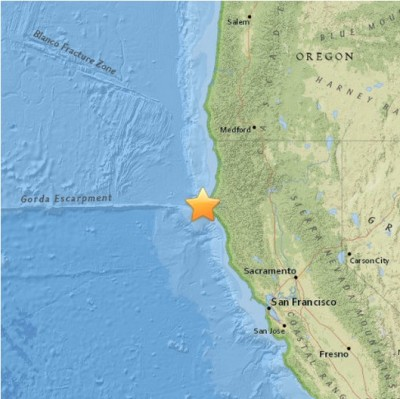 5.7 Earthquakes STRIKES NORTHERN CALIFORNIA