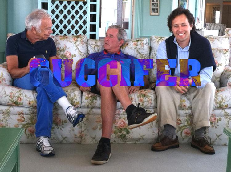 55bush George W Bush HACKED! Family Photos Sensitive Documents Leaked