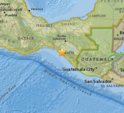 6.4 Earthquake Strikes Tres Picos Mexico
