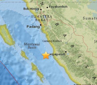 6.5 Earthquake Rocks Indonesia
