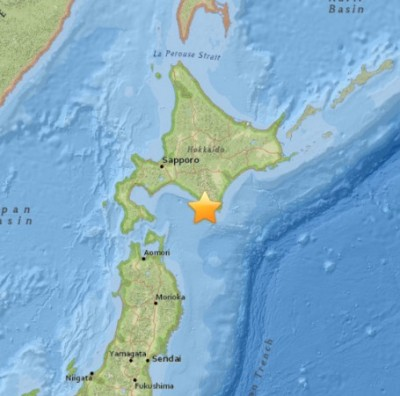 6.7 Earthquake Rocks Japan