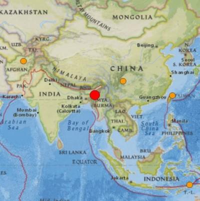 6.8 Earthquake Strikes India