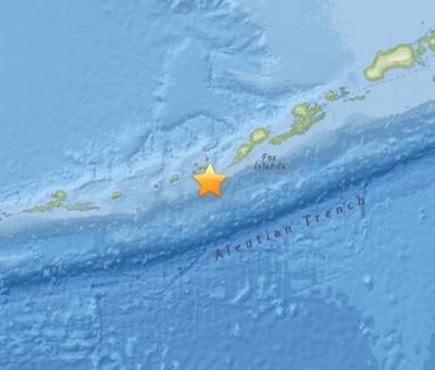 6.9 earthquake Yunaska Island alaska,