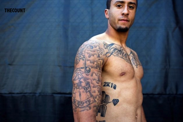 628x471 11 NFL Quarterback Catches Heat Over Tattooed Body