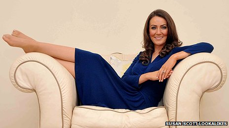 66535179 66535178 Kate Middleton Doppelganger Goes Extra Mile With Prosthetic Baby Bump