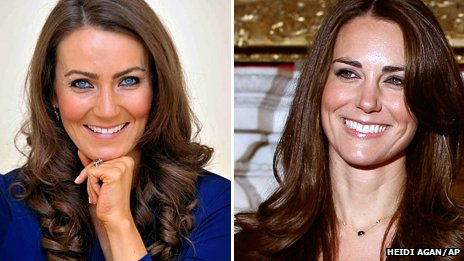 66536029 66536028 Kate Middleton Doppelganger Goes Extra Mile With Prosthetic Baby Bump