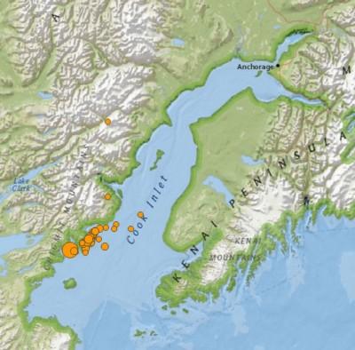 7.1 Earthquake Rocks Alaska