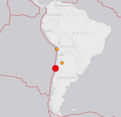 7.9M Earthquake 2 Chile