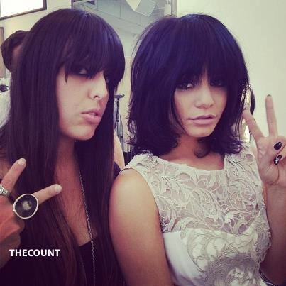 74805 390532311020120 276190965 n Vanessa Hudgens Latest Female Celeb To CHOP HAIR