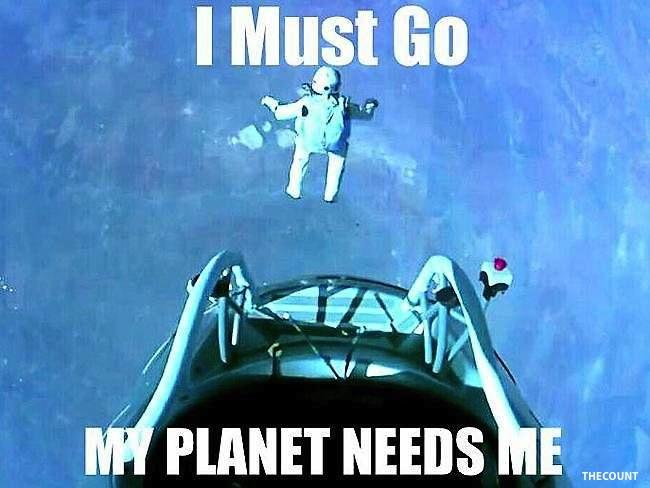 793285 felix baumgartner skydive Funny SPACE JUMP Memes