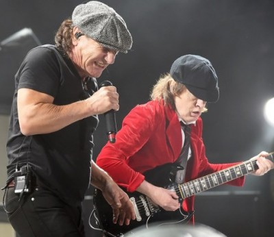 ACDC brian johnson hearing loss
