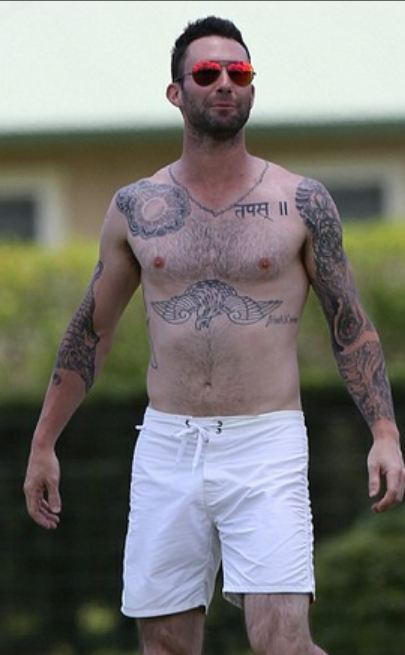 ALevineug1 Need to End Your Adam Levine Obsession? Check Out These Horrible Pics