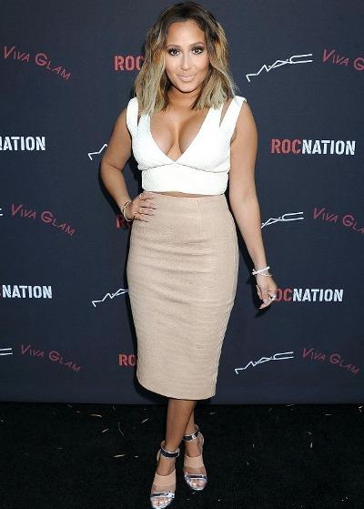 Adrienne-Bailon-RocNation-Grammy-Event