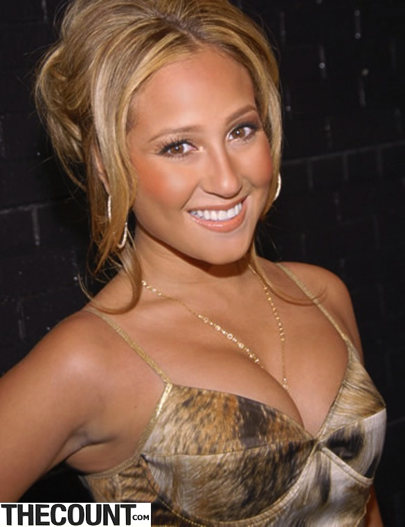 Adrienne Bailon smoking hot sexy before skin lovely chickipedia young after thumb 585x795 The Many Looks Of Adrienne Bailon The Real Talk Show Host