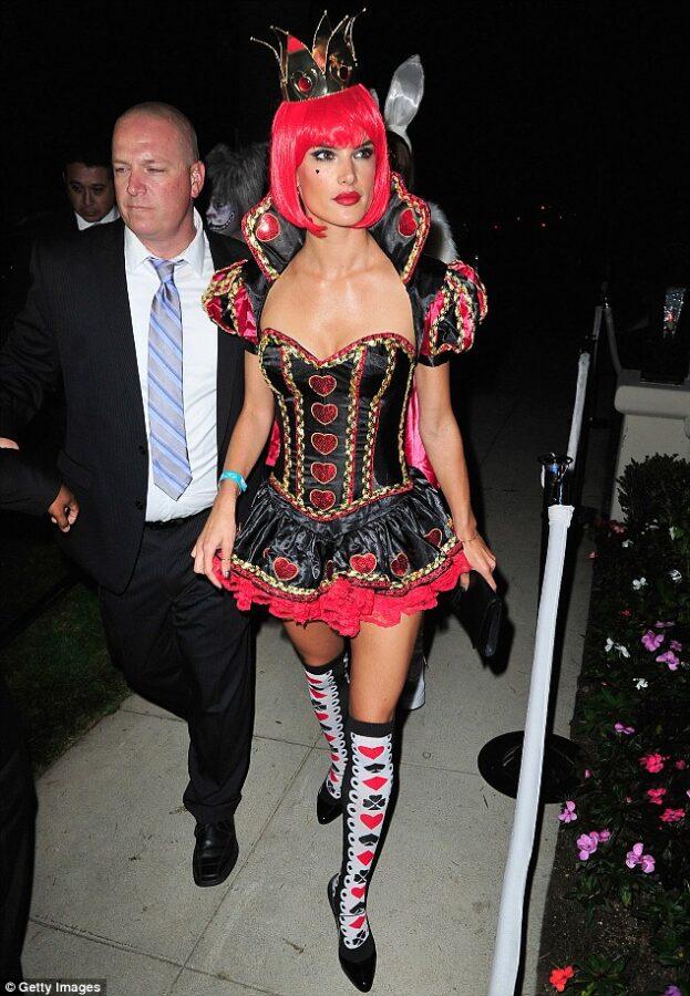 Alessandra Ambrosio  alace wonderland costume