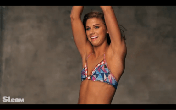 Alex Morgan Hot Photos 02 560x350 TheCount.com 3 Hottest Female Athletes Of The 2012 Olympics