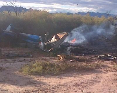 Alexis Vastine crash scene 4