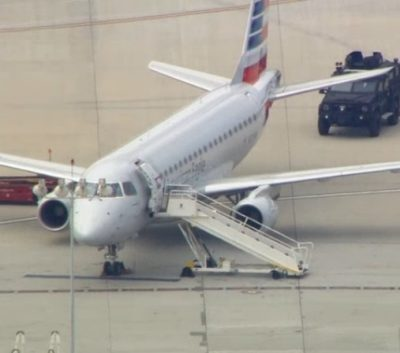 American Eagle bomb threat lax houston