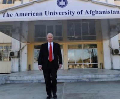 American University of Afghanistan complex fire