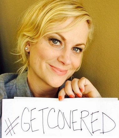 Amy Poehler- get covered