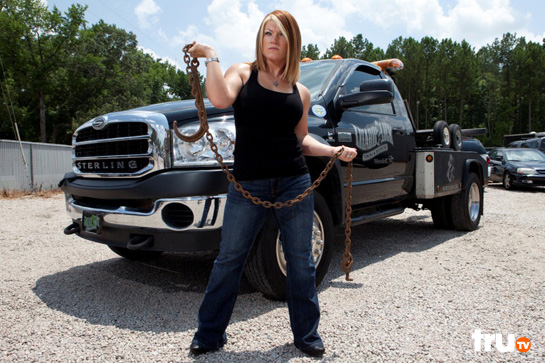 Amy Shirley From Lizard Lick Towing