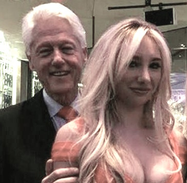 Andrea Catsimatidis bill clinton1 BOOK: Bill Clinton Has GIRLFRIEND Codenamed Energizer