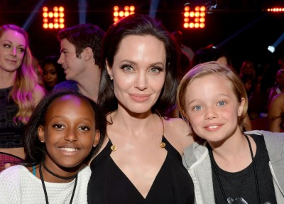 Angelina Jolie Zahara  john Kids Choice Awards