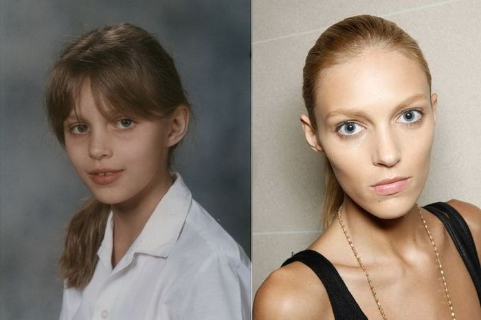 Anja Rubik TOP FASHION MODELS When They Were Young
