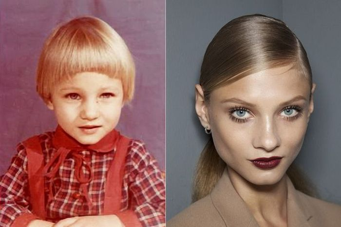 Anna Selezneva TOP FASHION MODELS When They Were Young
