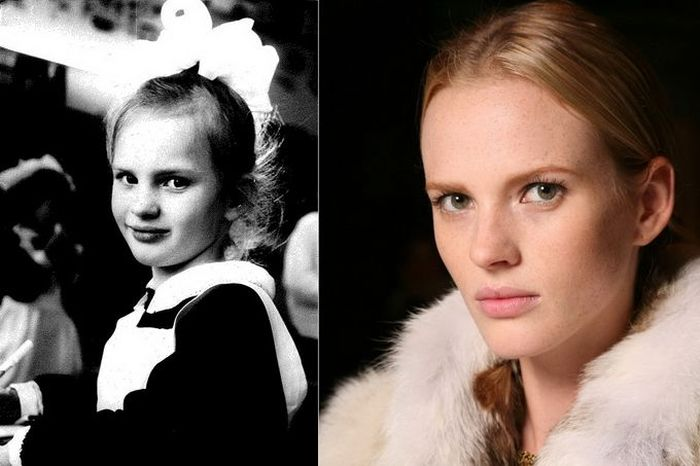Anne Vyalitsyna TOP FASHION MODELS When They Were Young