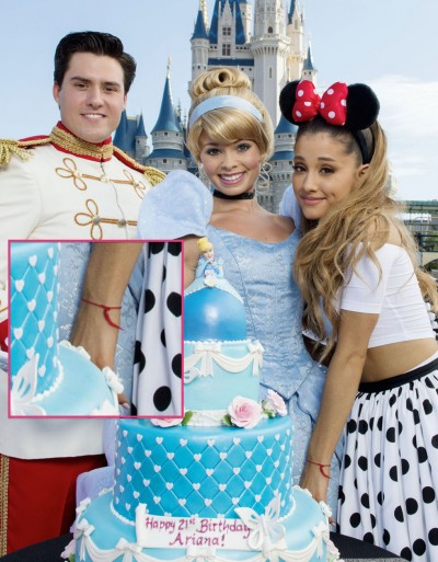 Ariana Grande Disneyland KABBALAH bracelet