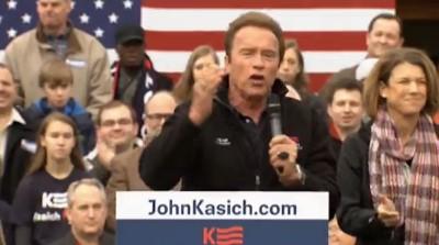 Arnold Schwarzenegger john kasich