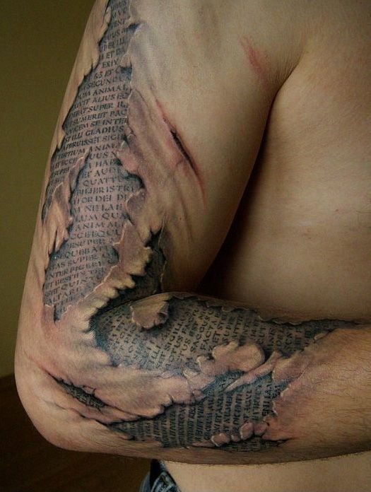 Awesome photo realistic tattoos13 REALLY? Awesome 3D Tattoos!