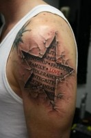 Awesome photo realistic tattoos17 133x200 REALLY? Awesome 3D Tattoos!