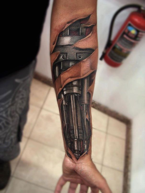 Awesome photo realistic tattoos19 REALLY? Awesome 3D Tattoos!