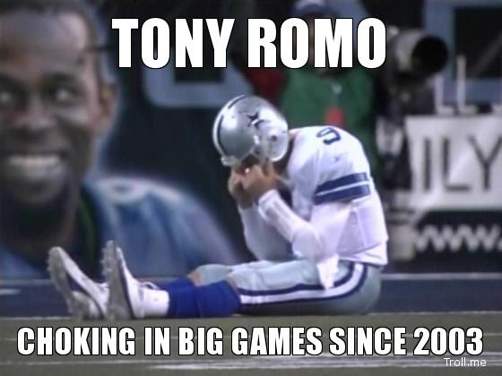 BbkoYT2CUAEk7Du Cue The TONY ROMO Choke Memes