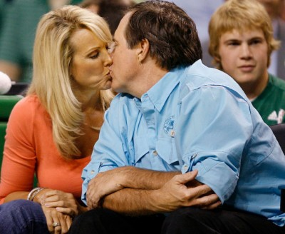 Belichick daughter Super Bowl kiss 4