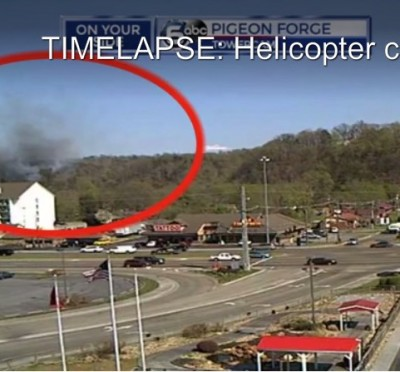 Bell 206 sightseeing helicopter crashed near Sevierville TN