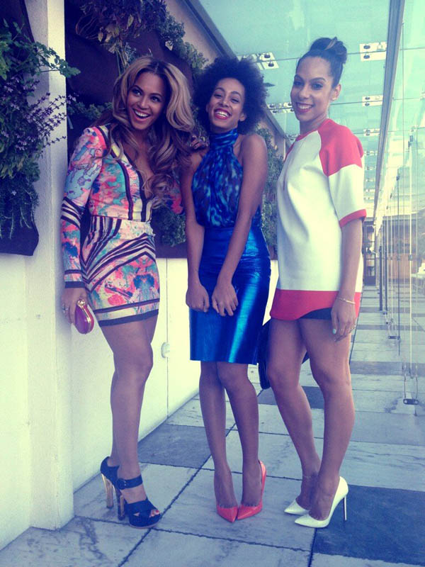 Beyonce-Solange-Melina-Roc-Nation-Pre-Grammy-Brunch