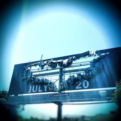 """Billboard For """"The Dark Knight Rises"""" — There will be destruction"""
