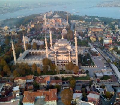 Blue Mosque Explosion Hagia Sophia