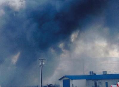 Bluebird Facility in Wenatchee fire ammonia leak