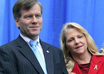 Republican Gubernatorial Canidate Bob McDonnell Campaigns In Alexandria, VA