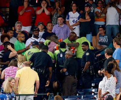 Braves organization fan dies statement 2