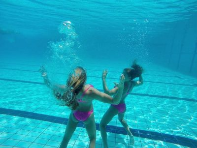 Brazilian twins Bia Branca Feres hot Synchronized Swimmers olympics